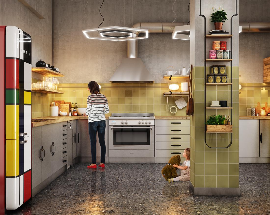 ego loft interior design greece