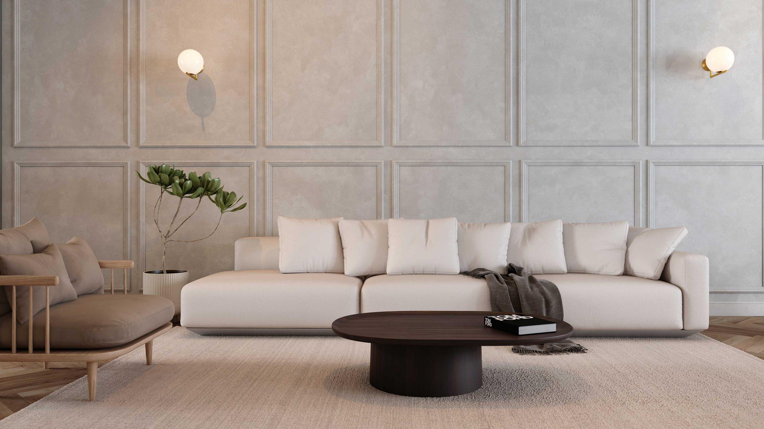 mel interiors residential 3d render